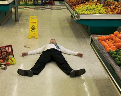 Boston, MA supermarket slip and fall lawyer