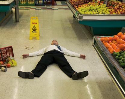 Boston, MA supermarket slip and fall lawyer