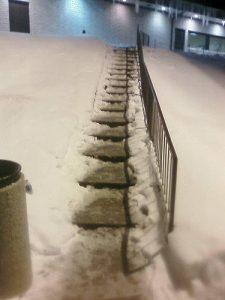 Massachusetts snow and ice falls