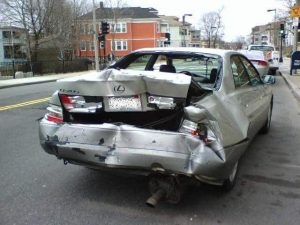 Who can be sued for a motor vehicle accident?